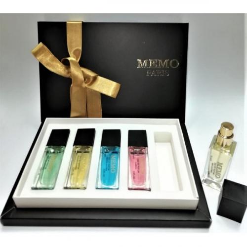 Подарочный парфюмерный набор MEMO 5Х15ml(копия)