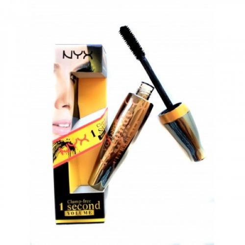 Тушь NYX Clump-free 1 Seconde Volume Mascara 8,5ml (силикон)(копия)