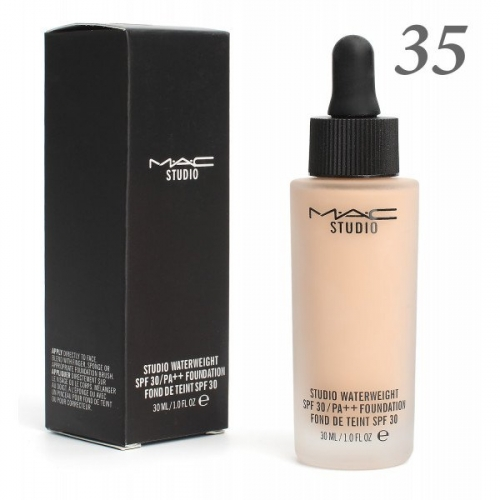 Тональная основа MAC Studio Waterweight 30 spf 30ml №35(копия)