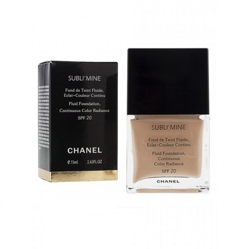 Тональный крем Chanel Sublimine Fond de teint fluide 75 ml №105(копия)