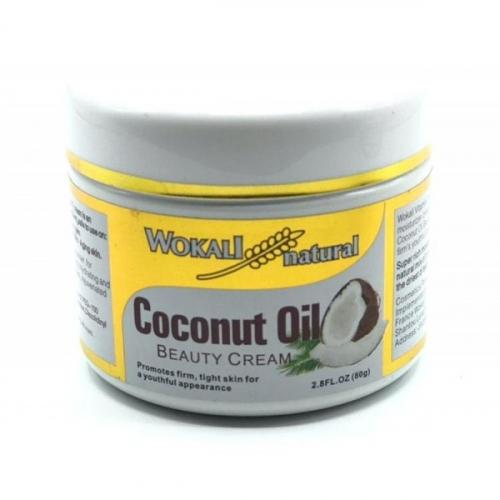 Крем Wokali Natural Coconut Oil beauty cream 80g