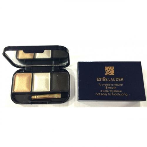 Тени для бровей и век Estee Lauder To Create a Natural Smoth 3 Color Eyebrow №6(копия)