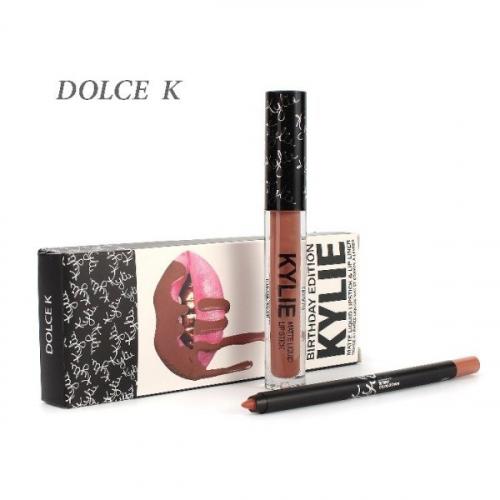 Набор Kylie Birthday Edition 2in1 Dolce K (помада и карандаш)(копия)