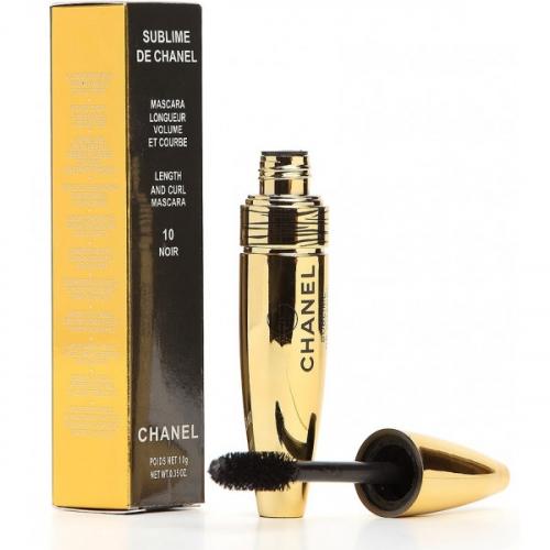 Тушь Chanel Sublime de Chanel Longueur Volume 10 noir 10g (пушистая)(копия)