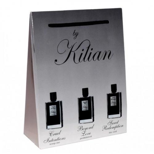 Подарочный набор by Kilian в пакете Cruel Intentions+Beyond Love+Sweet Redemption 3х15ml (унисекс)(копия)