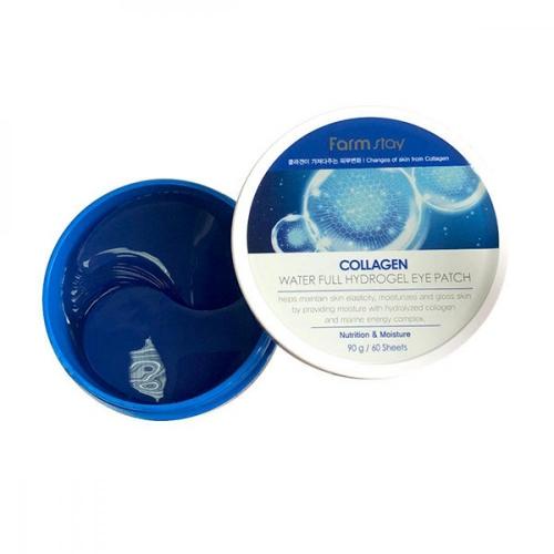 Патчи FarmStay Collagen Water Full Hydrogel Eye Patch 90g 60шт
