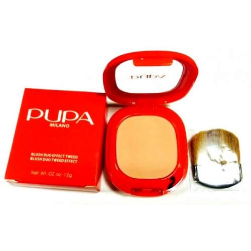 Румяна Pupa Milano Blush Duo Effect Tweed 12g №2(копия)