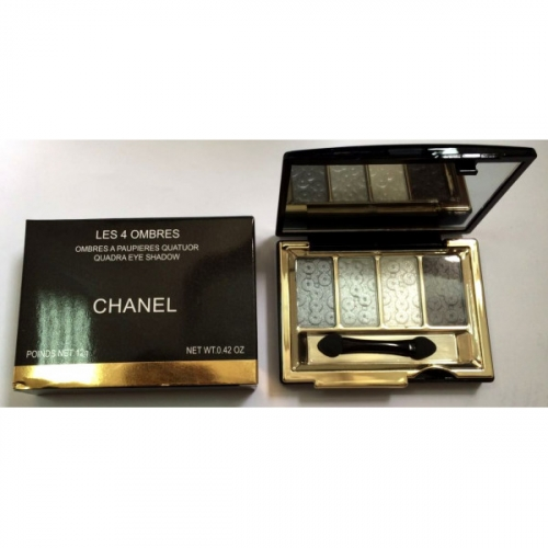 Тени Chanel Les 4 Ombres Quadra Eye Shadow 12g (длинные) №5(копия)