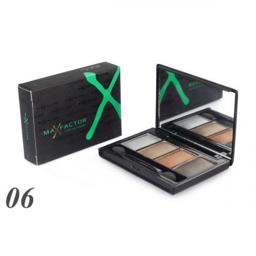 Тени MAX Factor Color Eye Shadow 4-х цветные №6(копия)