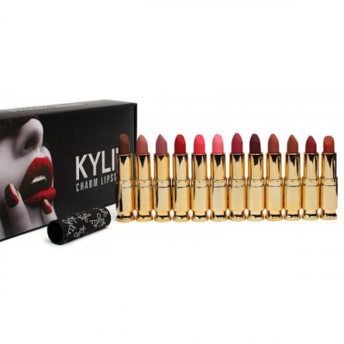 Помады матовые Kylie Charm Lipstick (12шт)(копия)