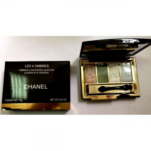 Тени Chanel Les 4 Ombres Quadra Eye Shadow 12g (длинные) №7(копия)
