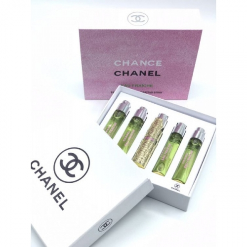 Набор парфюмов Chanel Eau Fraiche 5х11ml(копия)