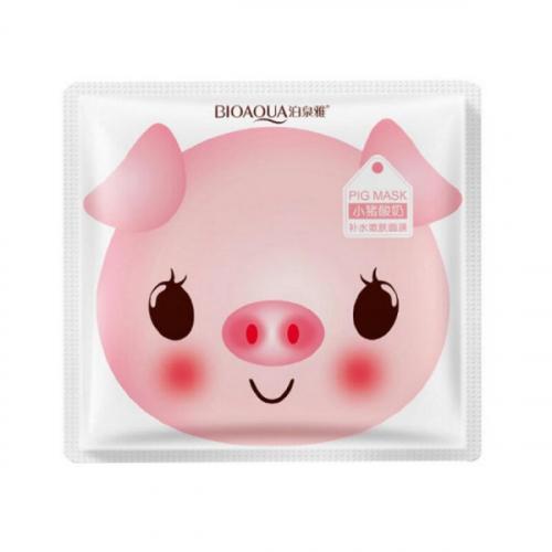 Маска тканевая Bioaqua Pig Milk Replenishment Mask 30g(копия)