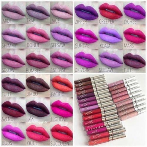Помада жидкая матовая ультрастойкая Colour Pop Ultra Matte Liquid Lipstick Ultra Satin Lip 20шт(копия)