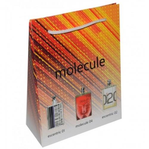 Подарочный набор Escentric Molecules в пакете Essentric 01+Molecule 04+Essentric 02 3х15ml (унисекс)(копия)