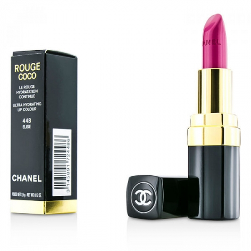Помада Chanel Rouge Coco Le Rouge Creme Hydrating Lip Colour 3.5g (12шт) А(копия)