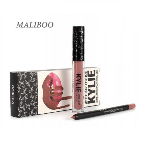 Набор Kylie Birthday Edition 2in1 Maliboo (помада и карандаш)(копия)