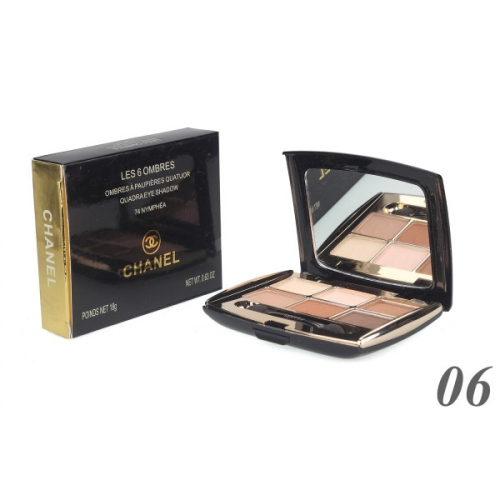 Тени Chanel Les 6 Ombres Quadra Eye Shadow 18g №6(копия)