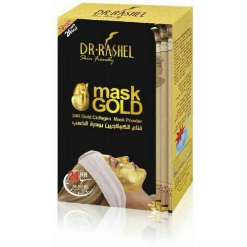 Коллагеновая маска-пудра с золотом DR RASHEL 24K Gold Collagen Mask Powder 50g(копия)