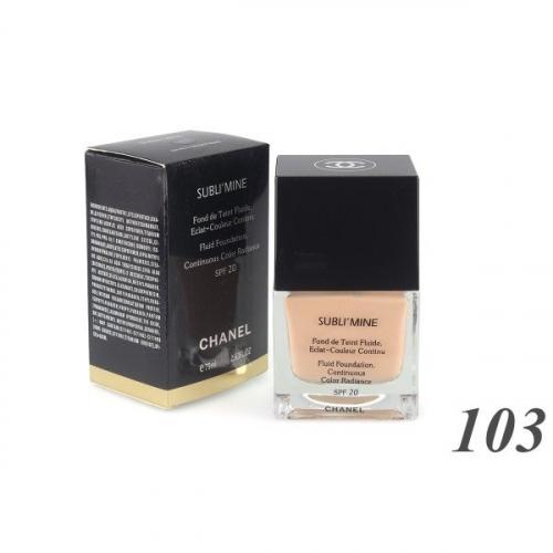 Тональный крем Chanel Sublimine Fond de Teint Fluide 75 ml №103(копия)
