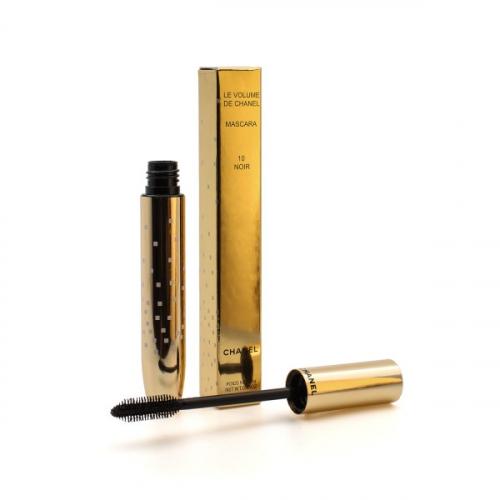 Тушь Chanel Le Volume de Chanel Mascara 10 Noir 10g (золотая, силикон)(копия)