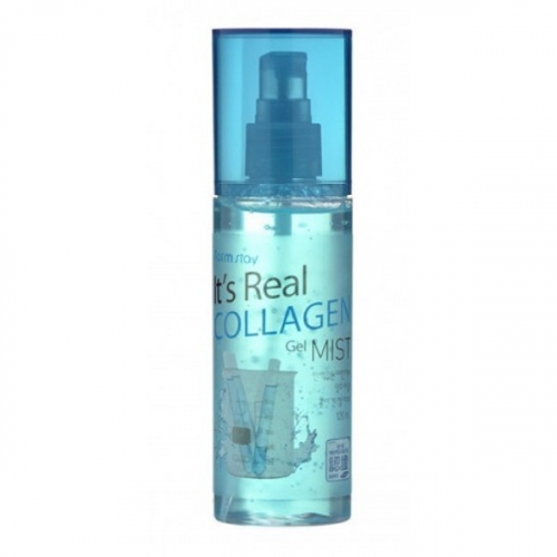Гель-Спрей Увлажняющий с Коллагеном Farm stay It's Real Collagen Gel Mist 120ml