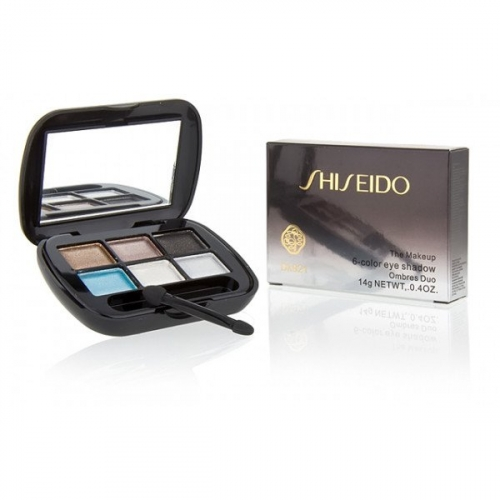 Тени Shiseido The Makeup 6 Color Eye Shadow 14 g №4(копия)