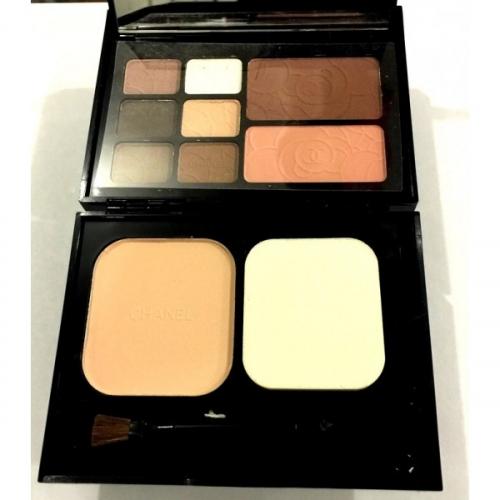 Набор для путешествий Chanel Travel Makeup Palette Essentiels De Maquillage De Voyage 18g+12g+12g №7(копия)