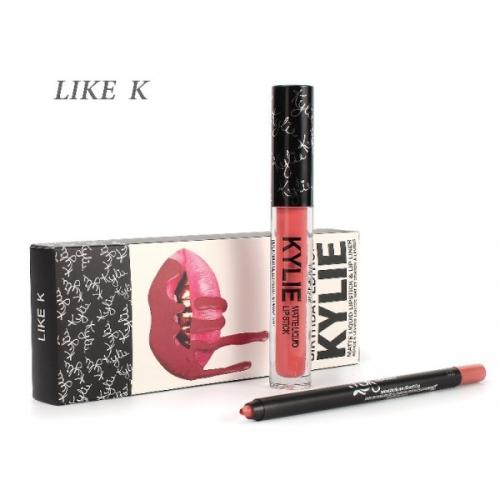 Набор Kylie Birthday Edition 2in1 Like K (помада и карандаш)(копия)