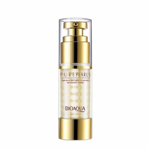 Жемчужная эмульсия для кожи вокруг глаз Bioaqua Pure Pearls Skin Silky Soft Moist Flawless Refreshing Tender