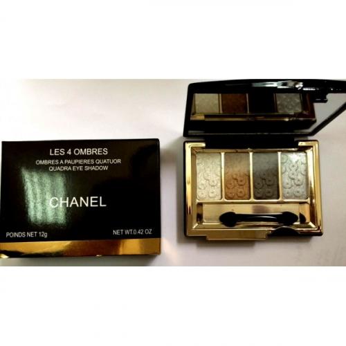 Тени Chanel Les 4 Ombres Quadra Eye Shadow 12g (длинные) №8(копия)