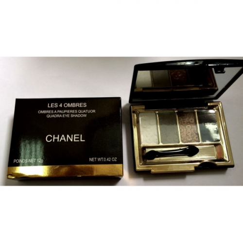 Тени Chanel Les 4 Ombres Quadra Eye Shadow 12g (длинные) №3(копия)