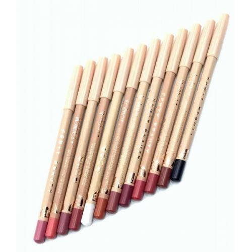Цветные карандаши для губ и глаз Fennty Beauty (12шт)(копия)