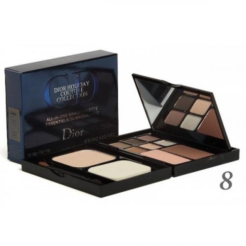 Набор для макияжа Dior Holiday Couture Collection Makeup Palette 18g+12g+12g (пудра, румяна и тени) №8(копия)