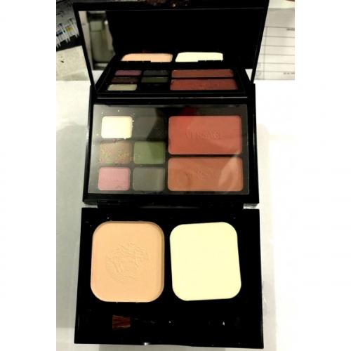 Набор Versace Travel Makeup Palette 6 colour eyeshadow 2 colour blusher 1 colour powder 18g 12g 12g №5(копия)