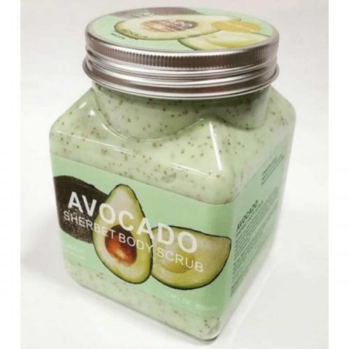 Скраб для тела Wokali Avocado 350ml(копия)