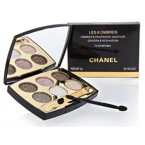 Тени Chanel Les 6 Ombres A Paupieres Quatuor 12 g №3(копия)