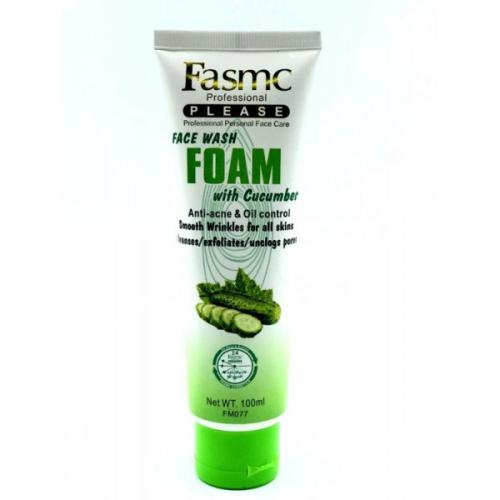 Пенка для умывания Fasmc Professional Face Wash Foam Cucumber 100ml(копия)