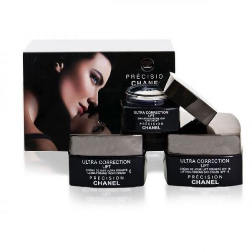Набор антивозрастных кремов для лица 3 в 1 Chanel Precision Ultra Correction Lift(копия)