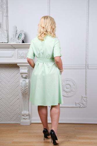 Платье 071, салатовый
