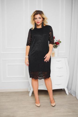 Платье 033, черный