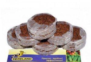 Таблетки кокосовые 42 мм (1уп/6шт)