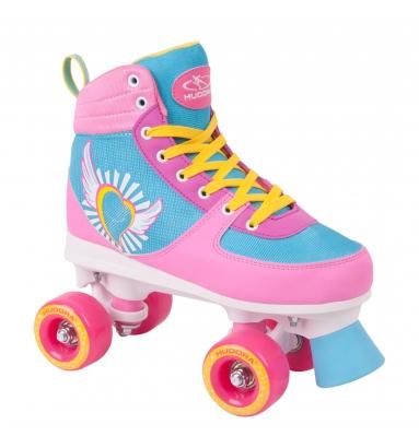 /Size 8/to 14 HUDORA Roller Skates Roller Skates Disco Roller Black Glamour/