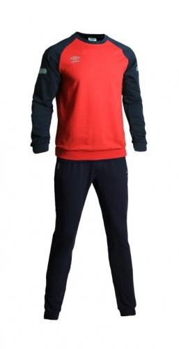 1841р. 2250р. TYRO COTTON SUIT, костюм спортивный трикотажный, (092) т.син/красн