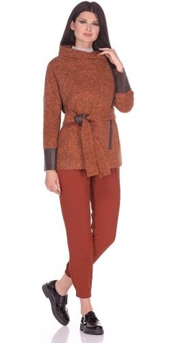 Пальто дс № 1288-2  TEX 2627 col# 115 REDр.