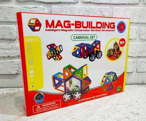 Магнитный конструктор Mag-Building (Маг Билдинг) 48 деталей