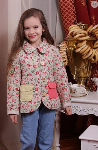 М-363 куртка  для девочки