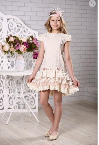 платье для девочки Л 18-7 Неженка горох