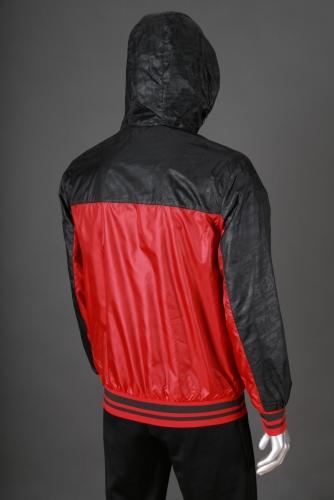 Ветровка PEAK F261101 красный