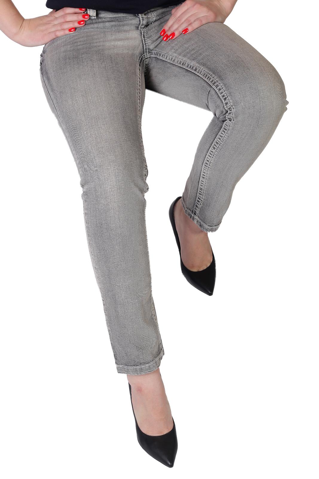 223b31a5e86 Спорт-ШИК от ТМ Arizona – женские oversize джинсы на резинке ...